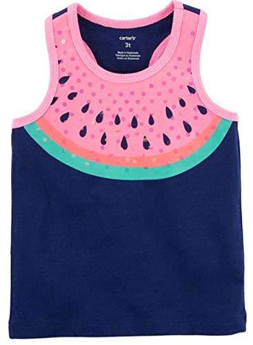 - Carter's Girls' Navy Watermelon Tank Top (12m)
