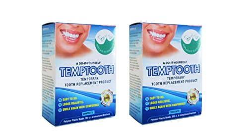 Price comparison product image Temptooth #1 Seller Trusted Original Temporary Tooth Replacement Product x2