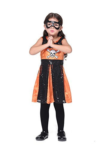 Young Britney Spears Costume (Children Cosplay Costume - bigxxx Halloween Dress Eyepatch Four Size Optional 340G L)