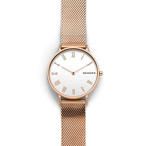 - Skagen Women's SKW2714 Analog Display Analog Quartz Rose Gold Watch