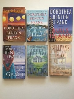 Dorothea B. Frank (Set of 6) Sullivan's Island; Plantation; Full of Grace; Porch Lights