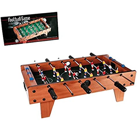 OOTB Wooden Table Football Game 69x36.5x24cm: Amazon.es: Juguetes y juegos