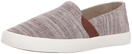Roxy Women's Atlanta Slip on Shoe Fashion Sneaker, Chocolate, 7.5 M US