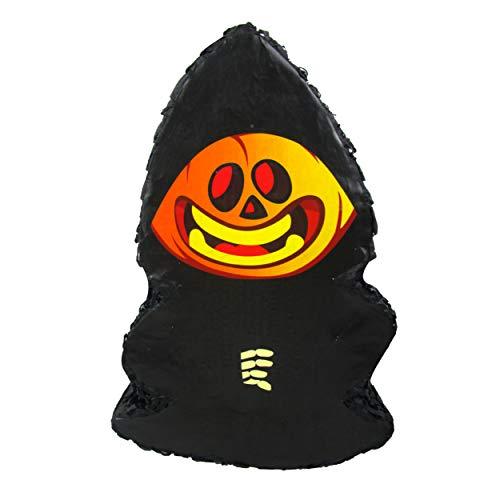 Pinatas Halloween Pumpkin Pinata Grim Reaper - Party Game, Photo Prop and Decoration