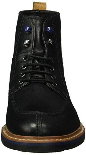 Clarks Darby Hi Gtx, Botines para Hombre Negro (Black Leather)