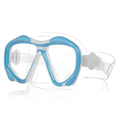 HiCool™ Scuba Snorkeling Diving Mask with HD Tempered Lenses