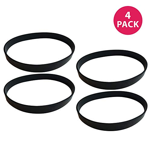 Think Crucial 4 Replacement Dirt Devil Style 4, 5 & 10 Drive Belts, Compatible With Part # 1540310001, 3720310001 & 1LU0310X00