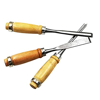 Mei/ßelsets Holzschnitzerei Mei/ßel Set Handwerkzeug Holzbearbeitung Drehmaschine Fugenwerkzeuge Raspel aus Holz 12Pcs