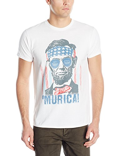 Hanes Men's Graphic Tee - Americana Collection, America, Medium -