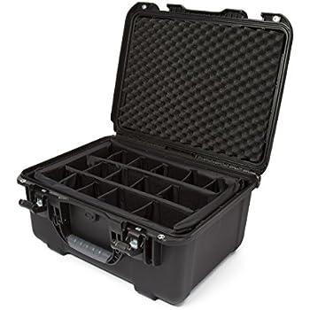 nanuk 933 waterproof hard case with padded dividers black camera photo. Black Bedroom Furniture Sets. Home Design Ideas