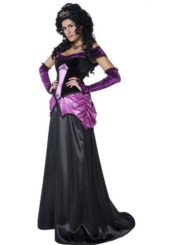 Dark Princess Halloween Costume (Smiffys Women's Gothic Princess Costume)