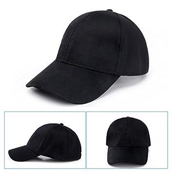 Llxln Gorra De Béisbol Casual Deus Dama Sombreros Suede Snapback ...