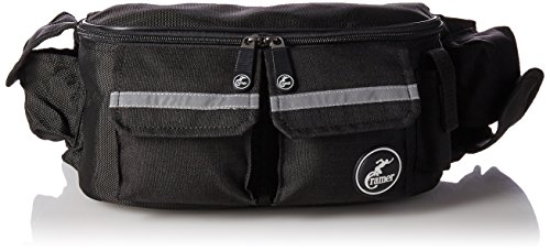 (Cramer Deluxe Fanny Pack for Athletic Trainers, Complete Athletic Training Kit Waist Bag With Quick Access Pockets, Lightweight Option Carries AT Essential Supplies, Including Tape and Scissors, Empty)