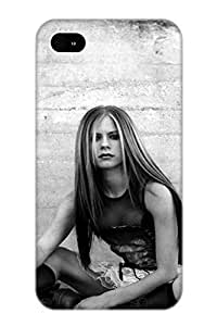 Fashion Qutkyw-5948-tidmyho Case Cover Series For Iphone 4/4s(avril Lavinge Pic)
