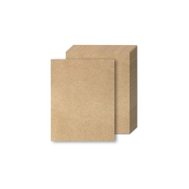 Brown Kraft Paper - 48-Pack Letter Sized
