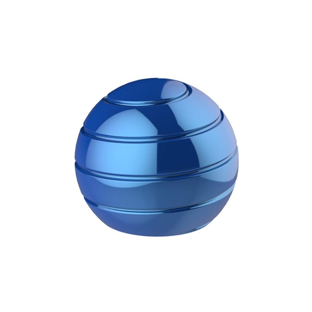 Pasizoe Home Office Desk Fidget Toy Stress Ball Sphere Gyroscope 45mm 55mm, for Adults Kids Kill Time, Anti-Anxiety, Keep Focus, Relaxing by Pasizoe