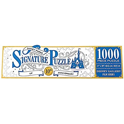 DisneyParks Up! Carl Ellie 10th Anniversary Two Side 1000 Piece Puzzle New: Toys & Games