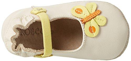 Robeez Tiare - Zapatillas de casa Bebé-Niños Weiß (BLANC CASSE)
