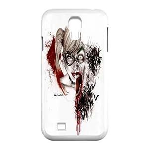LSQDIY(R) joker and harley quinn SamSung Galaxy S4 I9500 DIY Case, Brand New SamSung Galaxy S4 I9500 Plastic Case joker and harley quinn