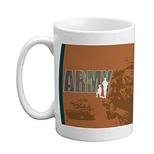 Amazon.com: VictoryStore.com Ceramic Mugs - Military, US ...