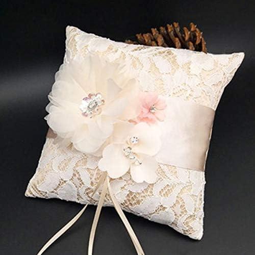 Amazon.com: Yunhany - Cojín de encaje con diseño de flores ...