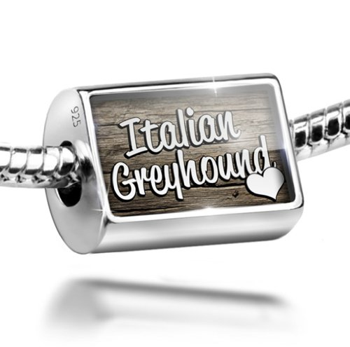 Sterling Silver Charm Italian Greyhound product image