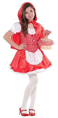 amscan Girls Lil Red Riding Hood Costume - Medium (8-10)