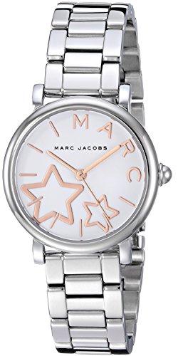 Marc by Marc Jacobs Women's MJ3591 Classic Analog Display Analog Quartz Silver Watch