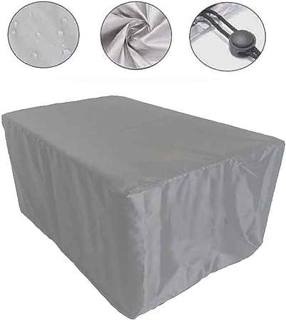 ALGWXQ Jardín Mantel Muebles de Exterior Tarea Pesada Máquina Lona Protectora Impermeable Protector Solar A Prueba Polvo, Personalizable (Color : Silver, Size : 80×80×80cm): Amazon.es: Hogar
