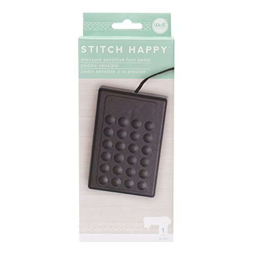 American Crafts We We R Memory Keepers Stitch Happy Compression Foot Pedal ()