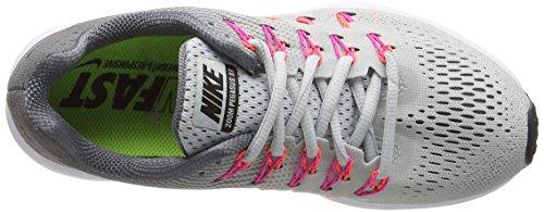 Nike Pltnm Blst Zoom Plateado Air Argento da Pegasus Blk cl pnk Gry Pr Scarpe Corsa 33 Donna FFUrqw4