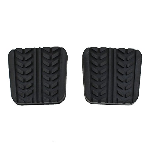 - LARBLL Pair Brake Clutch pedal pad Cover fit For Mazda MX-3/6 RX-7 323 626 929 B-Series MPV S083-43-028