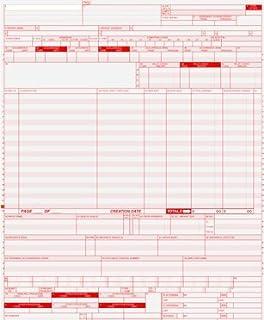 Amazon.com : UB-04 (CMS 1450) Health Hospital Insurance Claim Form ...
