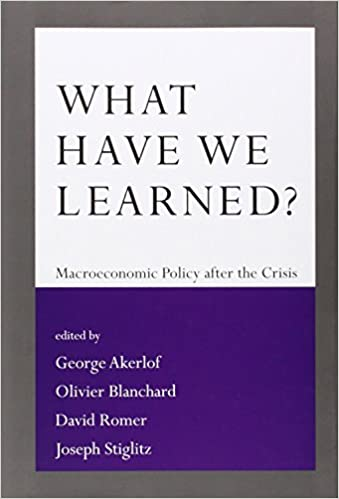amazon what have we learned macroeconomic policy after the