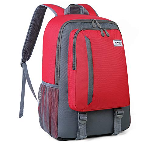 TOURIT Cooler Backpack Leakproof Insulated Backpack 28L Lunch Backpack with Cooler for Men Women to Work Beach Trip Day Trip Hiking (To Have A Chip On Your Shoulder)