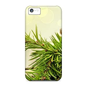 Defender Case With Nice Appearance (nature Plants Cones Branches) For Iphone 5c by icecream design