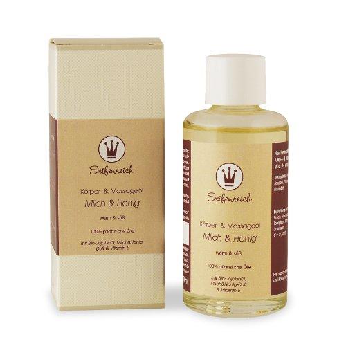 Seifenreich Körper- und Massageöl Milch und Honig, 1er Pack (1 x 100 ml)
