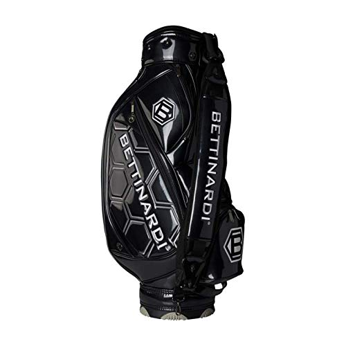 BETTINARDI(ベティナルディ) STAFF BAG キャディバッグ (Black & White) [並行輸入品] B07RC55DCV
