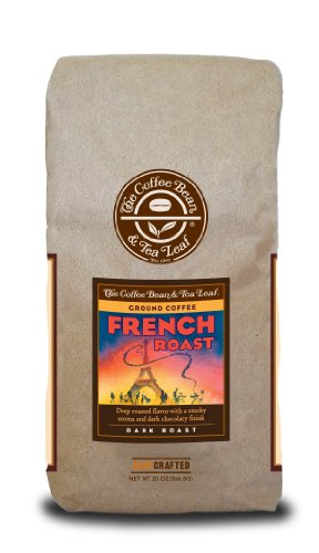 The Coffee Bean & Tea Leaf Dark French Roast Ground Coffee – 20 oz bag
