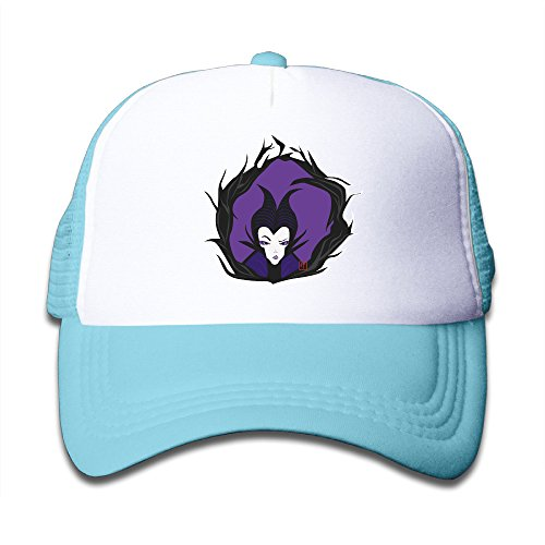 SkyBlue Youth Beauty Maleficent Cute Adjustable Baseball Trucker Caps For Girls One Size (Maleficent Headdress)