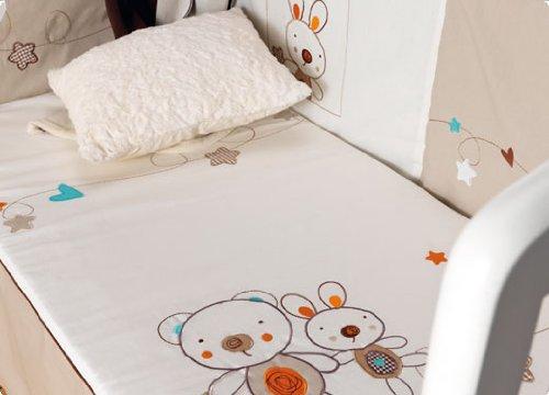 Einkaufskorb 3teilig Kinderbett–My Friend Leinen