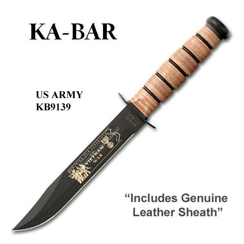 KA-BAR 9139, Commemorative Knife, US Army, Vietnam