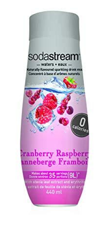 Flavor Diet - SodaStream Cranberry Raspberry Zero Calorie Syrup, 14.8 Fluid Ounce
