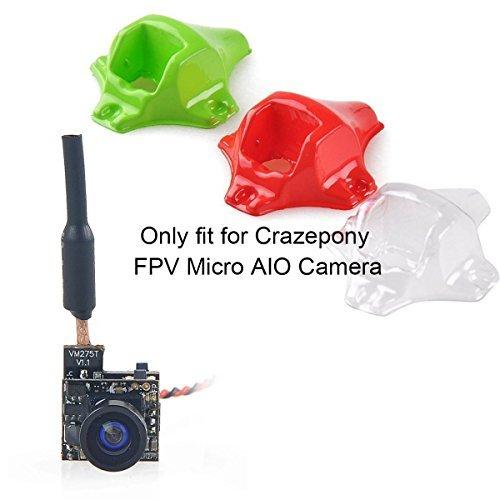 Crazepony 3pcs F04 FPV Camera Vacuum Plastic Mount Tiny Whoop for Crazepony FPV Micro AIO Camera