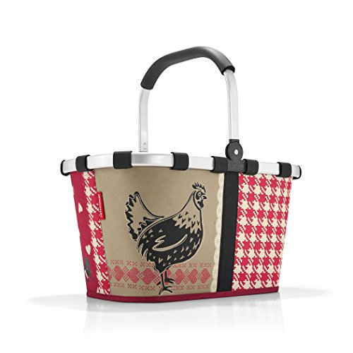 reisenthel Carrybag Fabric Picnic Tote, Sturdy Lightweight Basket for Shopping and Storage, Country, Special Edition