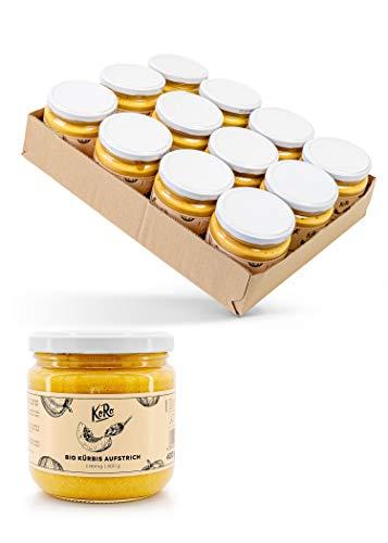 KoRo – Biologische mango curry spread 12 x 400 g – Veganistisch – Romige spread – Zonder toevoegingen