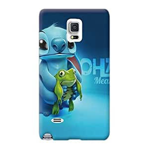 Best Cell-phone Hard Covers For Samsung Galaxy Note 4 With Provide Private Custom Realistic Stitch Pictures RandileeStewart