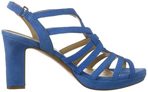 372 Heeled Blue Naturalizer Sandal Women's Flora qBxFFwCXE
