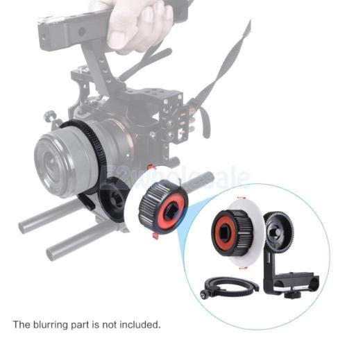 FidgetFidget DSLR Rig A/B Follow Focus w/Gear Ring Belt for Tilta Movcam BMPCC BMCC A7S