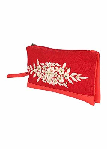 Pick Pocket ,  Strandtasche Rot rot Einheitsgröße